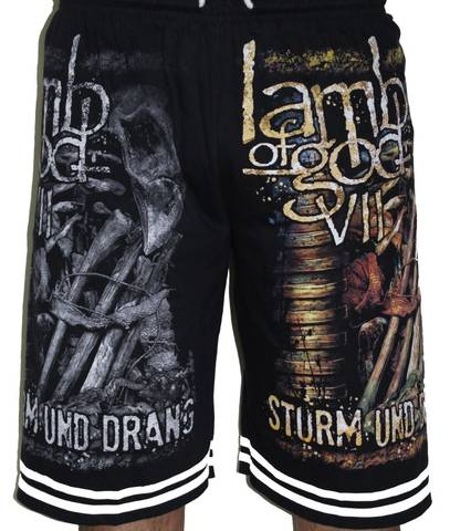 Lamb Of God Shorts - Free Size (28 inches to 46 inches)