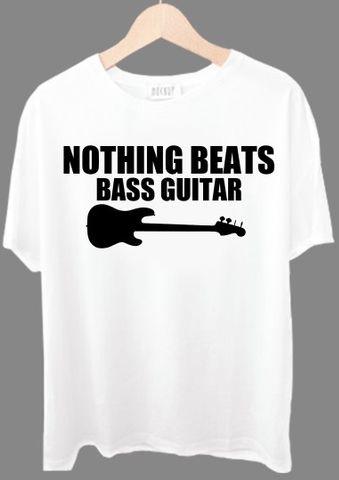 Nothing Beats Bass Guitar Tshirt