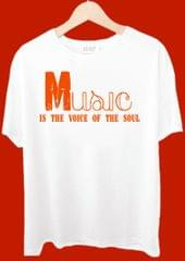 Music Is The Voice Of The Soul Tshirt
