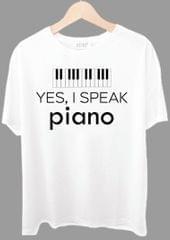 Yes I Speak Piano Tshirt