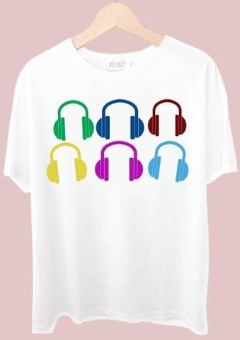 Head Phone Tshirt