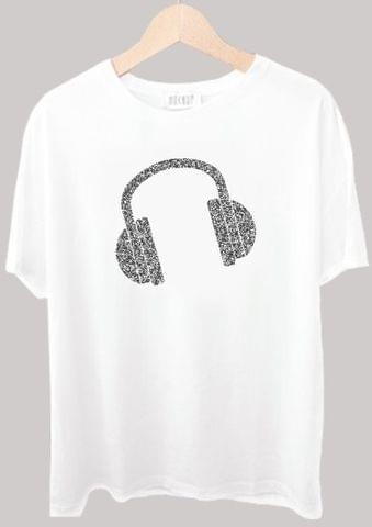 Head Phone Noise Tshirt