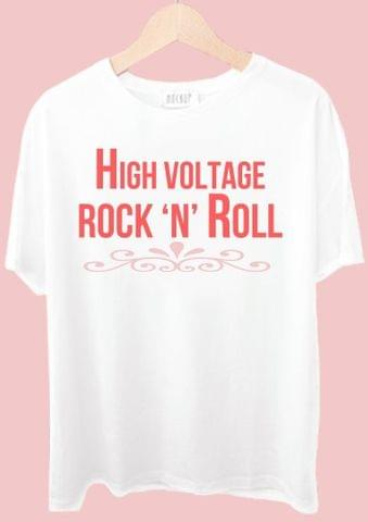 High Voltage Rock n Roll Tshirt