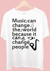 Music Can Chang The World Tshirt