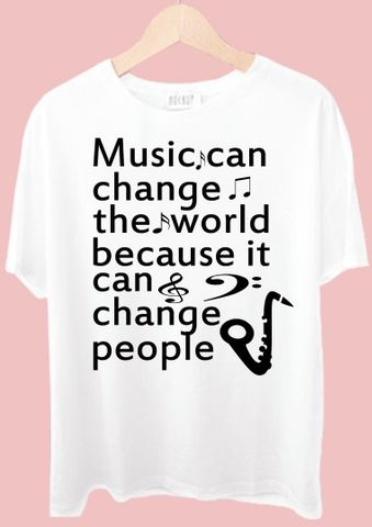 Music Can Change The World Tshirt