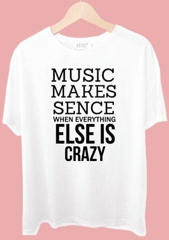 Music Makes Sence Tshirt