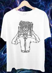 High in Office psy Trippy Psychedelic tshirts