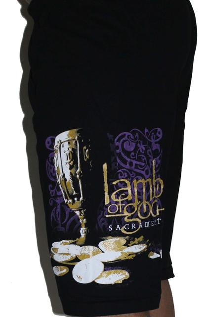 Lamb of God  Premium Shorts Free Size (28 inches to 40 inches)
