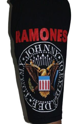 Ramones Premium Shorts Free Size (28 inches to 40 inches)