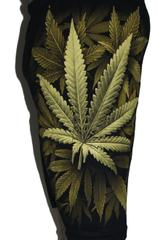 Awesome Weeed Premium Shorts Free Size (28 inches to 40 inches)