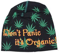 Dont panic its Organic  Beanie Cap