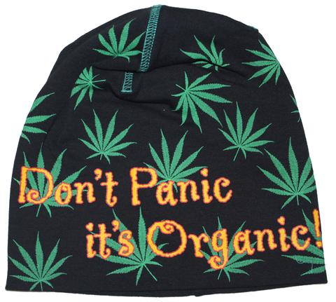Dont panic its Organic  Beanie Cap