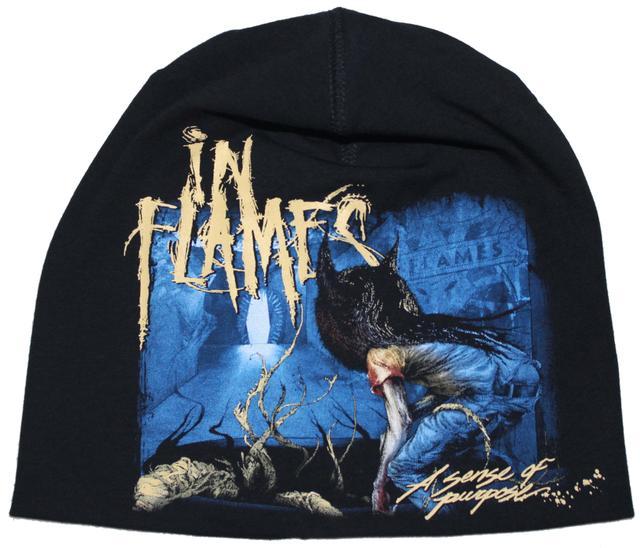 In Flames Beanie Cap