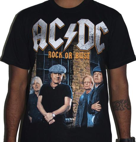 ACDC Rock or Bust Premium Tshirt