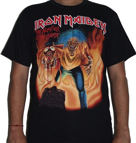 Iron Maiden - The number of the Beast Premium Tshirt