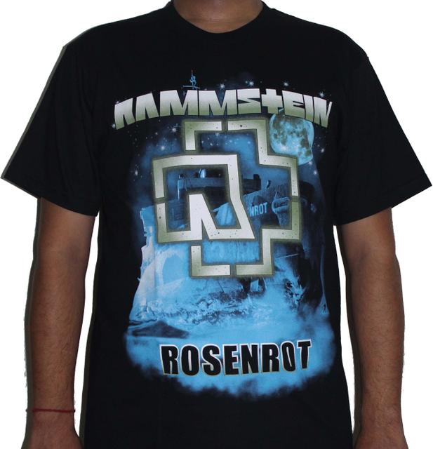 Rammstein ROSENROT Premium Tshirt