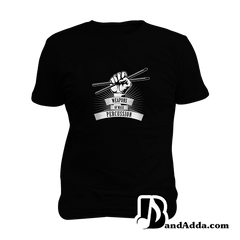 Weapon of Mass Percussion - Drummer Mens round neck  T-shirt