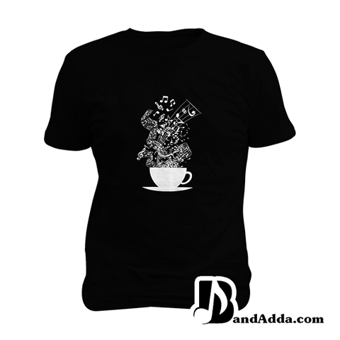 Cup of the Songs Mens round neck  T-shirt