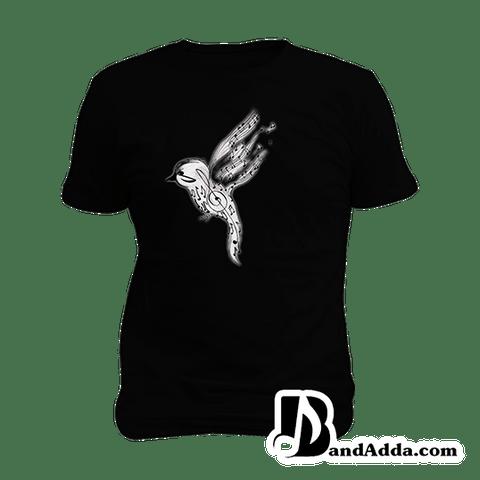 Be a Musical Bird buddy Mens round neck  T-shirt