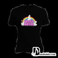 Death Metal Dreams round neck  Women T-shirt