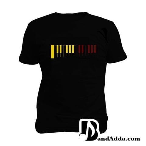 Piano Trips Man Music T-shirt