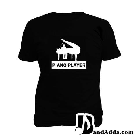 Piano Player Man Music T-shirt