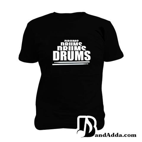 Drums Drums Man Music T-shirt