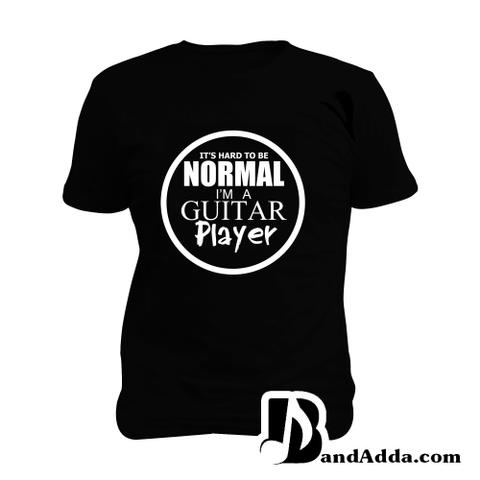 Abnormal Guitarist Man Music T-shirt