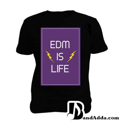EDM is Life Man Music T-shirt