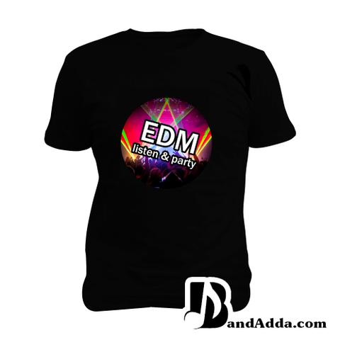 EDM Party Man Music T-shirt