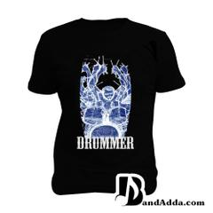 Drummer Karma Man Music T-shirt