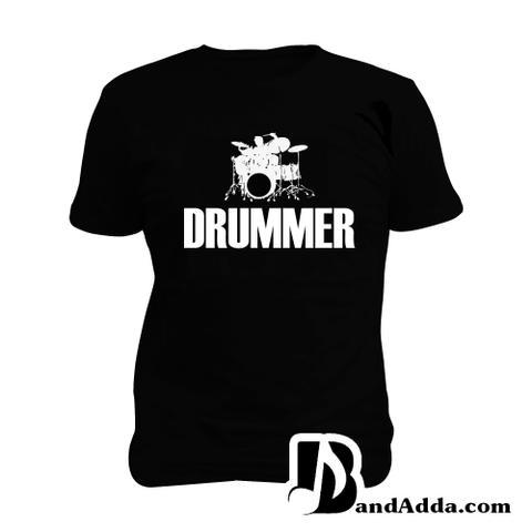 Drummer Man Music T-shirt