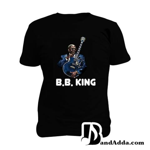 Blues BB King Man Music T-shirt