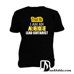 Awesome Guitarist Man Music T-shirt