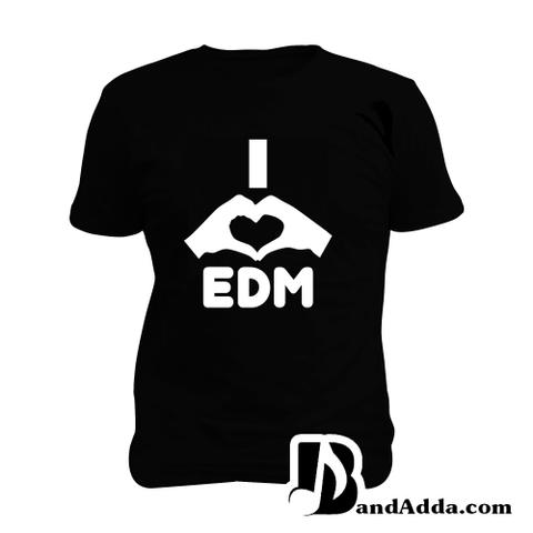 Love EDM Man Music T-shirt