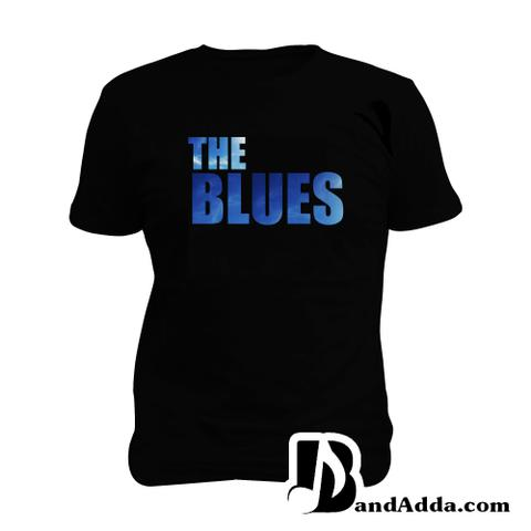 The Blues  Man Music T-shirt