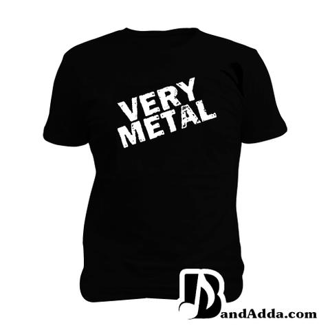 Very Metal Man Music T-shirt