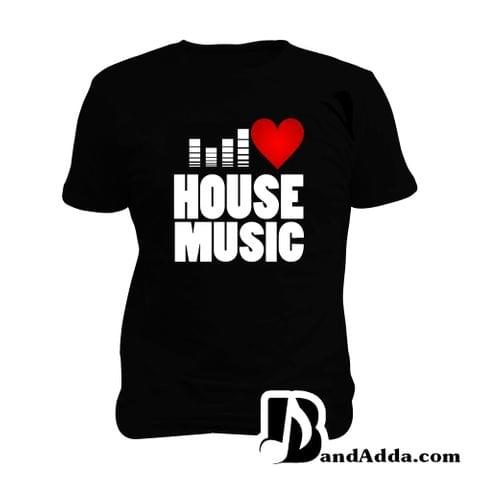 Love House Music  Man Music T-shirt
