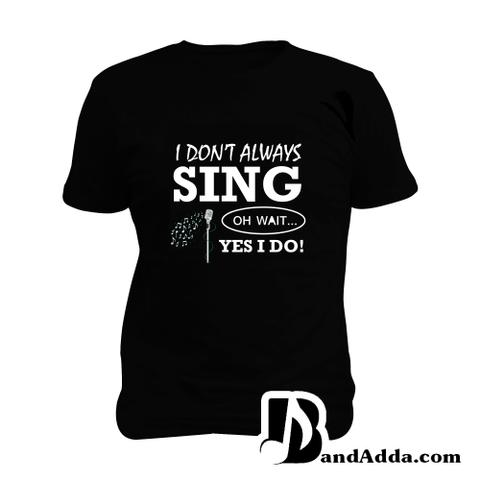 Singer Problem no 88 Man Music T-shirt