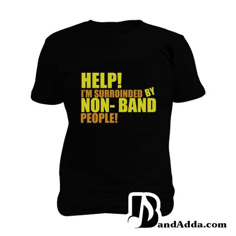 Non Band People - OMG Man Music T-shirt