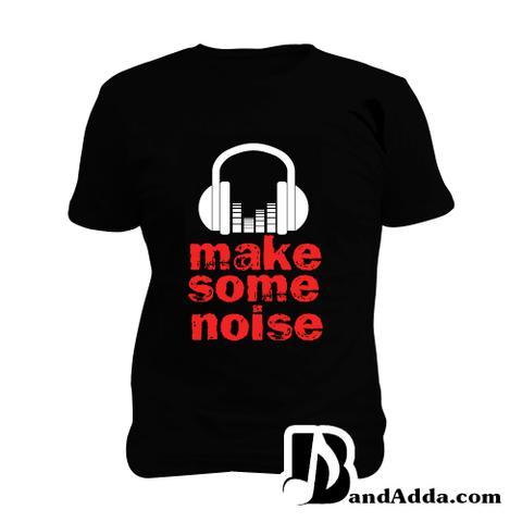 Make Some Noise Man Music T-shirt