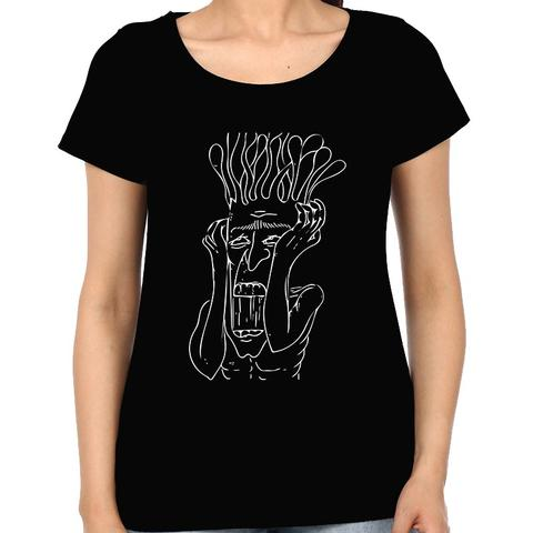 Shit in my Head psy Trippy Psychedelic  Woman Music t-shirt