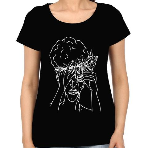 Mind fucked Hard psy Trippy Psychedelic Woman Music t-shirt