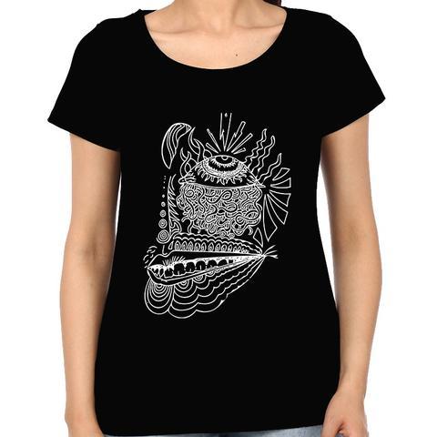 Third Eye psy Trippy Psychedelic Woman Music t-shirt