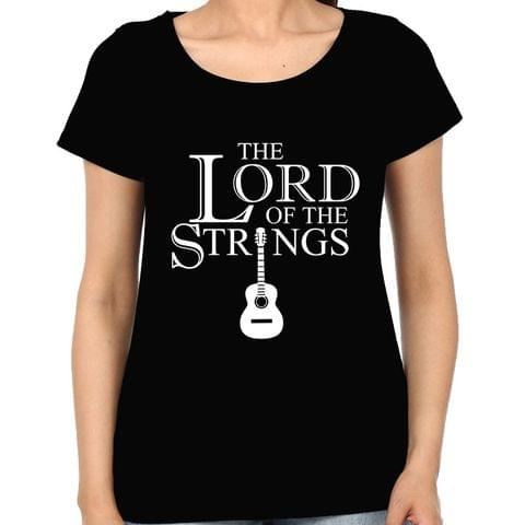 The Lord of the Strings Woman Music t-shirt