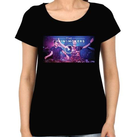 The Chainsmokers Woman Music t-shirt