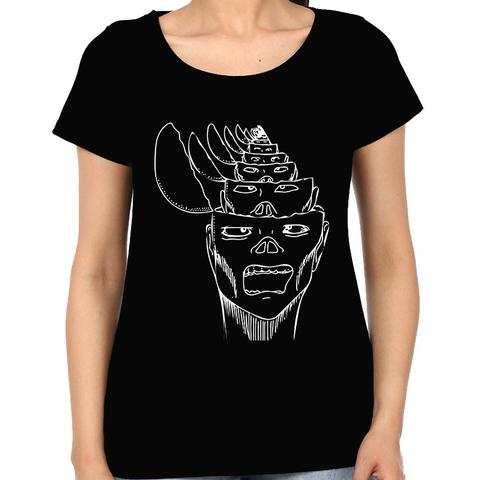 Opened my Head Nothing psy Trippy Psychedelic  Woman Music t-shirt