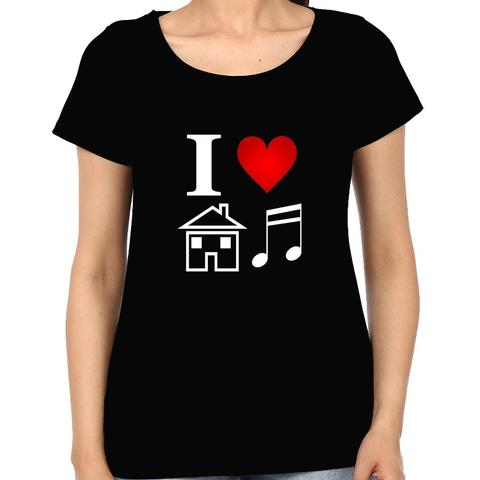 Love for House Music Woman Music t-shirt