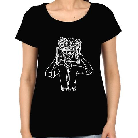 High in Office psy Trippy Psychedelic  Woman Music t-shirt