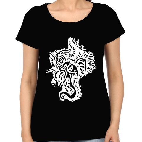 Psy Ganesha Tshirt  Woman Music t-shirt